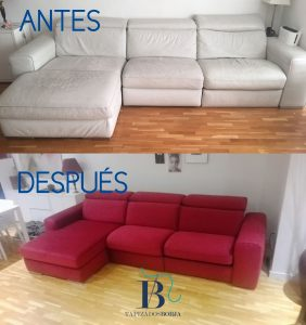 tapizar tu sofa