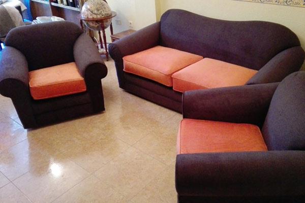 tapizado sofa y sillon