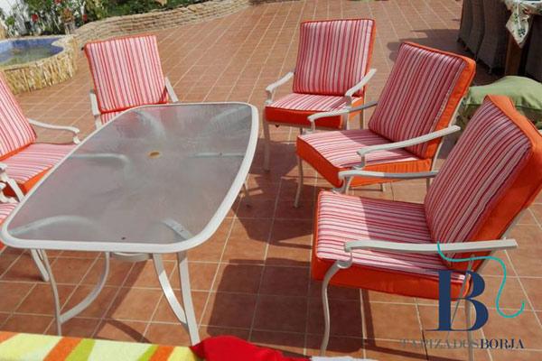 tapizados muebles jardin