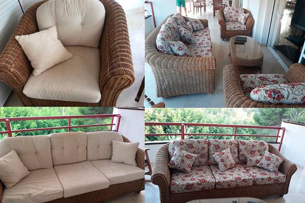 tapizados muebles terraza
